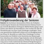 Seniorenwanderung 2016